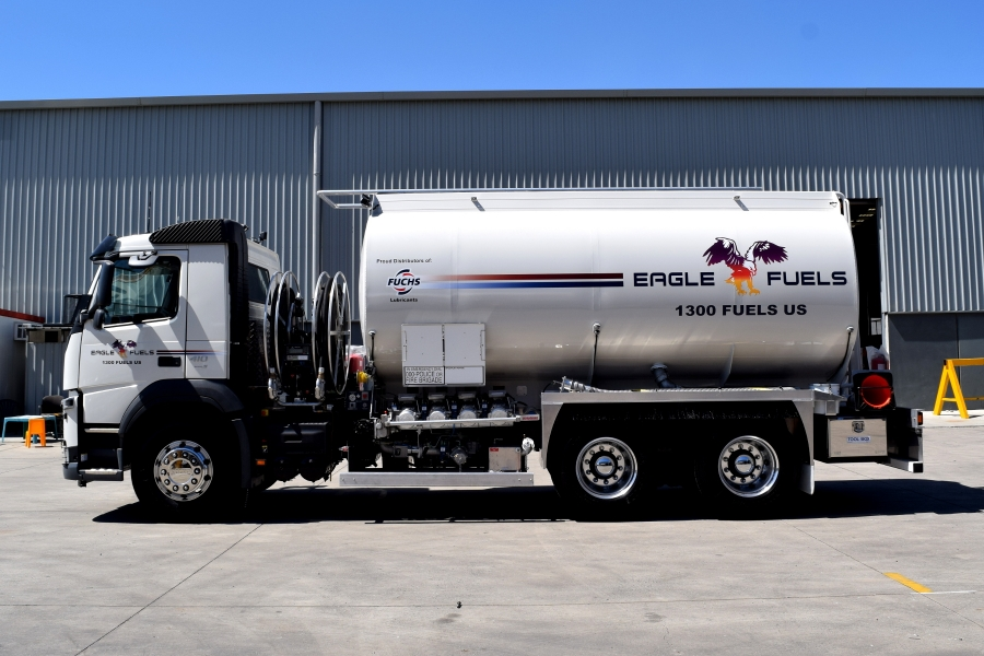 Eagle Fuels Rigid Mounted Tanker