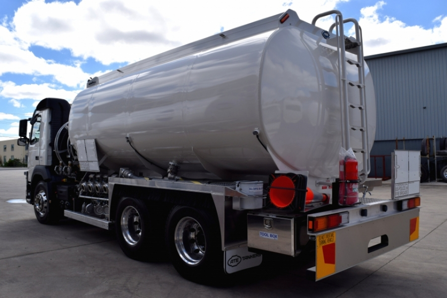 18,500L Rigid Mounted Tanker