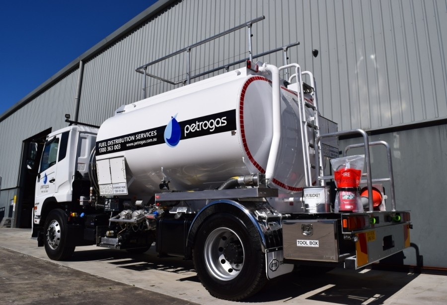 Petrogas Rigid Mounted Tanker
