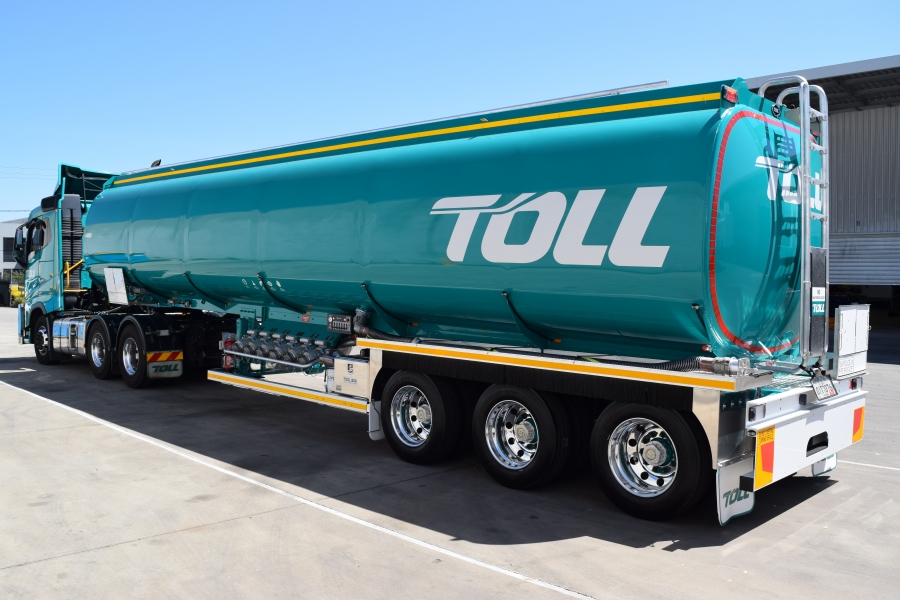Tri Axle Semi-Trailer