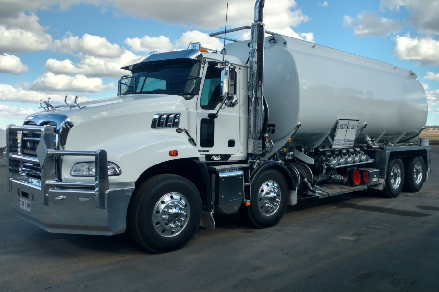 24,000L Rigid Mounted Tanker