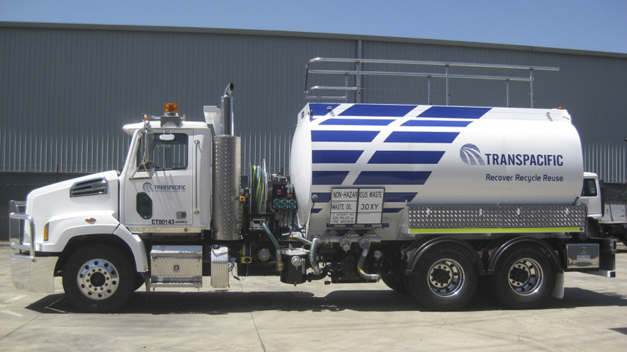 Transpacific Rigid Mounted Road Tanker